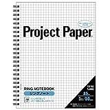オキナ プロジェクトリングノートA55S PNA5S 00015193 【まとめ買い5冊セット】