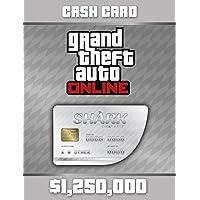 Grand Theft Auto Online: Great White Shark Cash Card (GTAマネー 1,250,000) 【Windows版】 [オンラインコード]