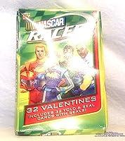 NASCAR Racers 32Valentines Cards。