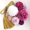 【選べるカラーバリエーション】着物 浴衣 卒業式 和装 袴 成人式 結婚式 七五三に (紫グラデーション)C