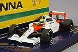 ☆ ミニチャンプス 1/43 マクラーレン ホンダ MP4/6 1991 F1 ワールドチャンピオン #1 A.セナ