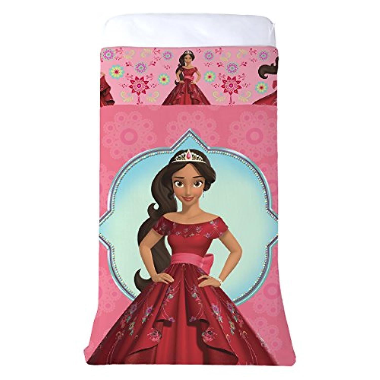 [ディズニー]Disney Elena of Avalor AllInOne Blanket & Sheet Reversible 60 X 80 Comfy Cover JF29868CD [並行輸入品]