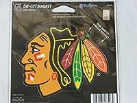 Chicago Blackhawks Official NHL 4.5インチx 6インチカーマグネットby WinCraft 285232by WinCraft