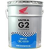 Honda(ホンダ) 2輪用エンジンオイル ウルトラ G2 SL 10W-30 4サイクル用 20L