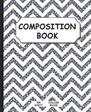 Composition Notebook: For School, Writing, Journal and Taking Notes