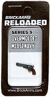 [ブリックアームスブラック]BrickArms Black BrickArms Reloaded 2.5 Scale Weapon Overmolded M1851 Navy [並行輸入品]