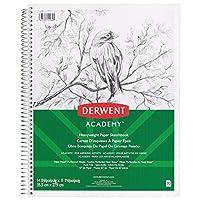 Derwent Academy Sketch Book Heavyweight Paper 14 x 11 70 Sheets Wirebound (54960) [並行輸入品]