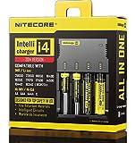 51xiaVKLrbL. SL160 - 【バッテリー/充電器】「NITECORE ナイトコア Intellicharger i4」レビュー。4本同時充電可能、コスパに優れたバッテリーチャージャー。