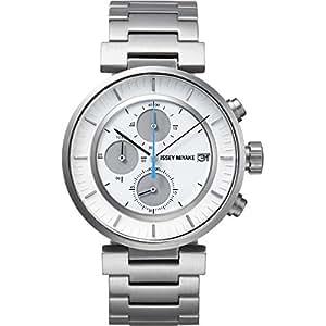[イッセイミヤケ]ISSEY MIYAKE 腕時計 メンズ W ダブリュ クロノグラフ 和田智デザイン SILAY007