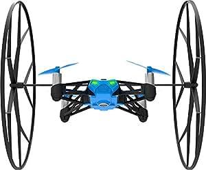 【国内正規品】Parrot Minidrones Rolling Spider ブルー・ドローン規制対象外200g 未満・パリデザイン・自動安定ホバーリングクアッドコプター ・30万画素カメラ・簡単にアクロバット・スマホ・タブレットで操作 PF723032T