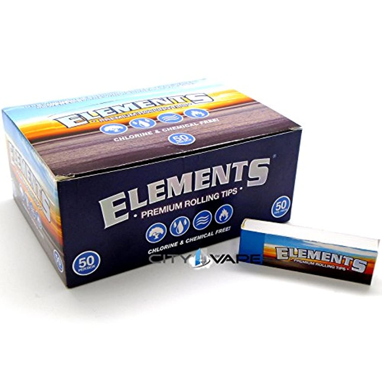 Element Premium Rolling Tips box of 50 by ELEMENT