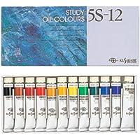 クサカベ 油絵具 習作用 油絵具セット 11色セット 5S-12 20ml