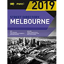 Melbourne Street Directory 2019 53rd ed: includes Geelong