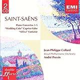 Saint-Saëns: Piano Concertos 1-5 / Wedding Cake / Caprice-Valse / Africa Fantaisie