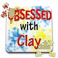 ブロンドDesigns Obsessed with–Obsessed with Clay–10x 10インチパズル( P。_ 241571_ 2)