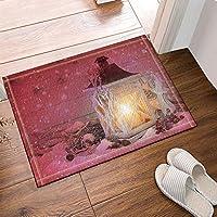 浴室の敷物、滑り止めのドアマットの床の出入り口の屋外の屋内玄関のマット、子供のバスマット、15.7x23.6in、浴室のアクセサリ 75x45cm