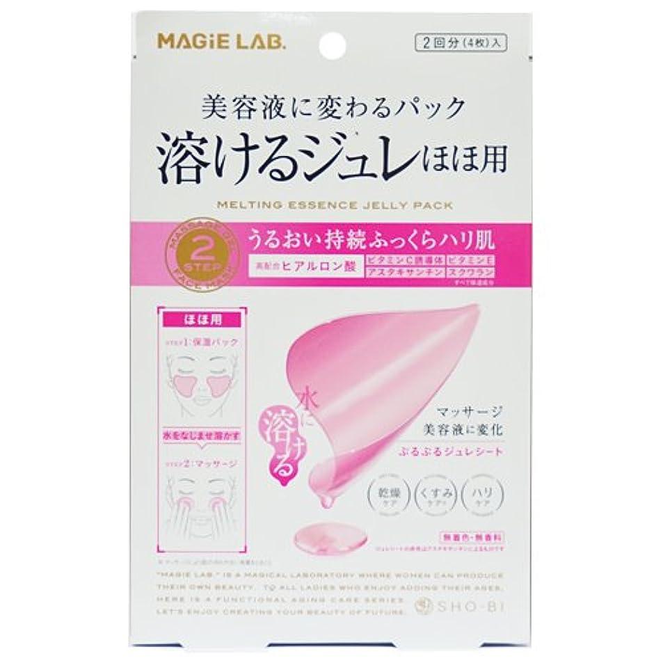 貫通手荷物吸うSHO-BI MAGiE LAB.(マジラボ) 溶けるジュレほほ用 2回分(4枚)入 MG22102