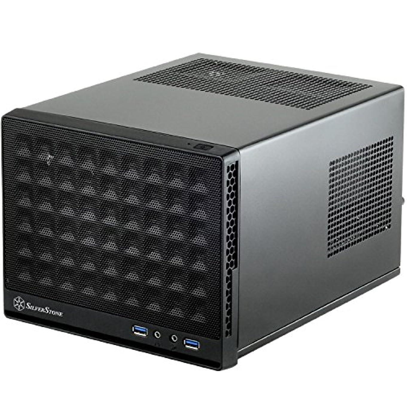 華氏テーブルを設定する不調和Silverstone Tek Mini-DTX, Mini-ITX Small Form Factor Computer Case with Mesh Front Panel Cases SG13B [並行輸入品]