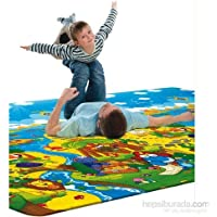 Serra Baby Dino Adventureゲームマット230 x 140 cm、厚さ15 mm