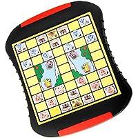 SONONIA 中国 ジャングル 動物チェスボードゲーム パズル 子供 教育玩具 ギフト