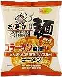 創健社 お湯かけ麺コラーゲン味噌ラーメン 75g×12袋