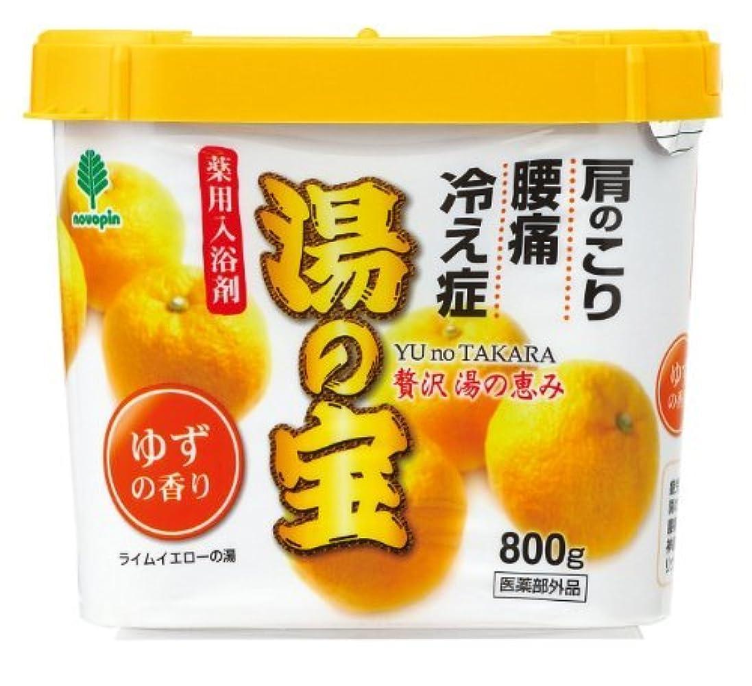 称賛変形味方紀陽除虫菊 湯の宝 ゆずの香り 800g【まとめ買い16個セット】 N-0054