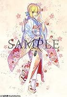 B2Wスウェードタペストリー Return to AVALON 武内崇 Fate ART WORKS メロンブックス特典 アルトリア セイバー anime グッズ