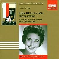 Lieder Recital,Salzburg '57