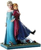 ディズニー トラディション Enesco Disney Traditions アナと雪の女王 アナ&エルサ フィギュア 【オルゴール付き】 [並行輸入品]