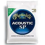 MARTIN MSP3000 80/20 Bronze Extra Light アコースティックギター弦×3SET