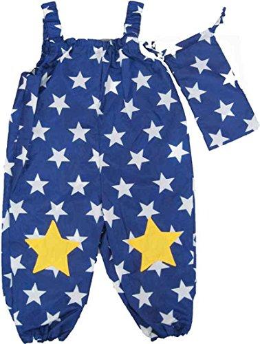 お砂バギー 砂遊びパンツ お砂バギー 砂遊びパンツ 紺×星柄 子供用レインパンツ 入園 入学