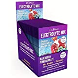 Electrolyte Mix Super Hydration Formula + Trace Minerals   NEW! Blueberry-Pomegranate Flavor (30 powder packets) Sports Drink