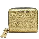 (ジミーチュウ) JIMMY CHOO 二つ折り財布 REGINA HIC 173 GOLD [並行輸入品]