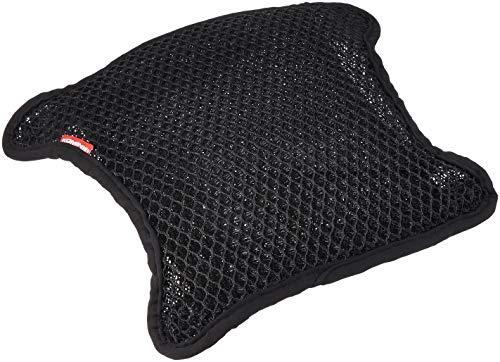 コミネ(Komine) バイクシートカバー 3Dエアメッシュシートカバー2層アンチスリップ ブラック L(W360XL330) ...