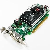 ATI RADEON 256MB PCI-E ビデオカード、109-B62941-00、102B6290200、0Y104D(認定リファービッシュ品)
