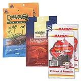 オーストラリアお土産 オーストラリアご当地ジャーキー 3種6袋セット(ビーフ、カンガルー、クロコダイル)