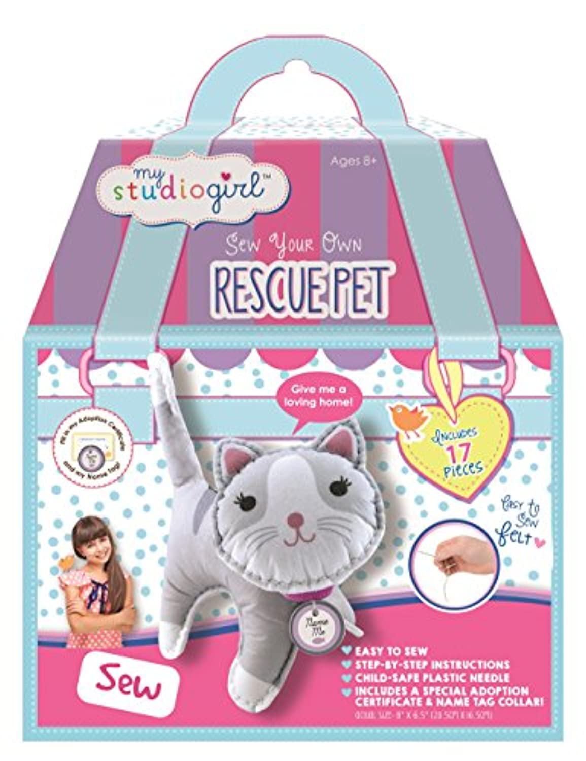 My Studio Girl Sew Your Own Cat Rescue Pet by My Girl Studio