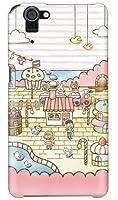 [AQUOS PHONE SERIE SHL23/au専用] SECOND SKIN スマートフォンケース uistore 「Sweets Shop」 ASHL23-ABWH-194-X008