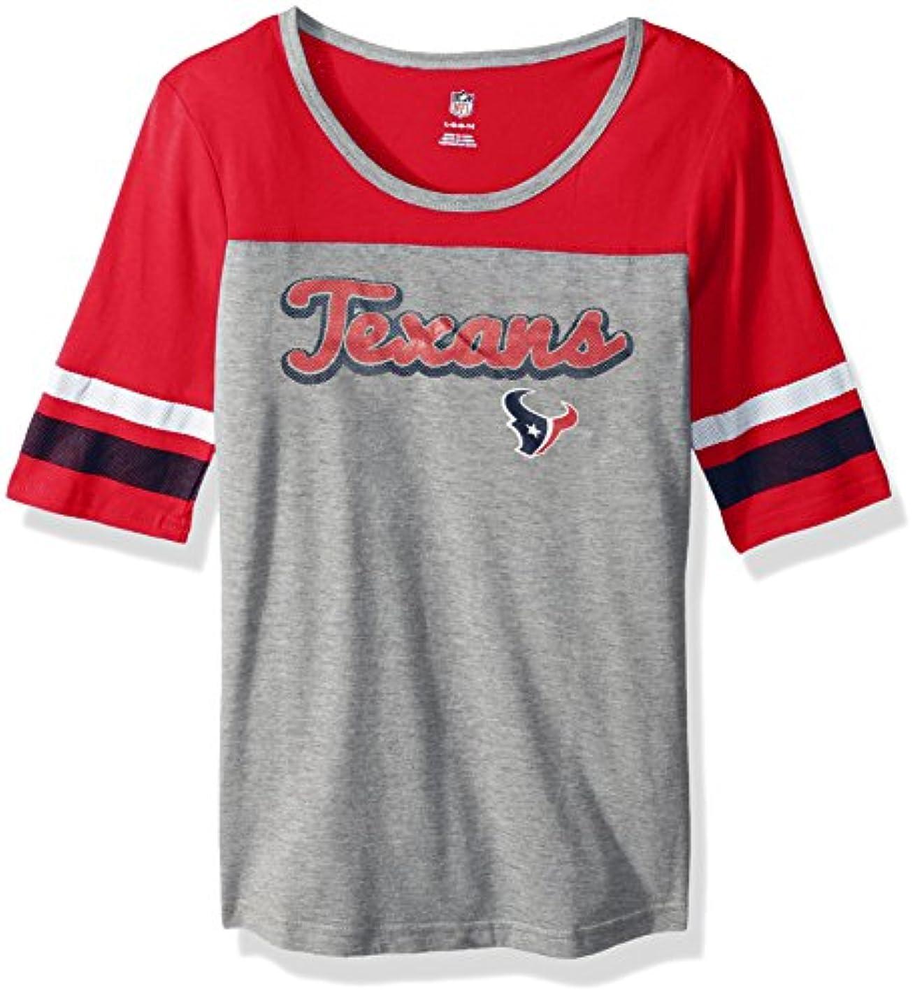 食用コロニアル学習者NFL Girls 716「Fantastic」半袖Tシャツ