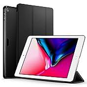 ESR 新型 iPad 9.7 2017 ケース 超軽量 極薄 レザー 三つ折スタンド オートスリー...