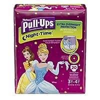 Huggies Pull-Ups Nighttime Training Pants - Girls - 3T-4T - 20 ct by Huggies