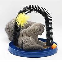 子猫マッサージブラシ2019年美容ブラシ猫のセルフビューティー柔らかくて快適ペット用おもちゃ
