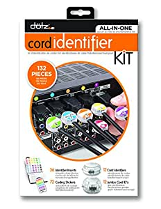 Dotz Home Entertainment Cord Identifier Kit
