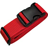 """TRANVERS Heavy Duty Luggage Strap for Suitcase 16""""~32"""" with Address Tag 1/2/4 Pack"""