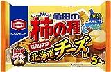 【期間限定】亀田製菓 亀田の柿の種 北海道チーズ味 5袋詰 125g×6袋