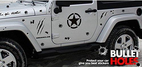銃玉 ステッカー 5枚セット zidan01