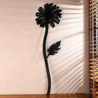 ZWL コートフック、ヨーロッパの黒のアートウォールフック fashion.z (色 : Sun Flower Hook)