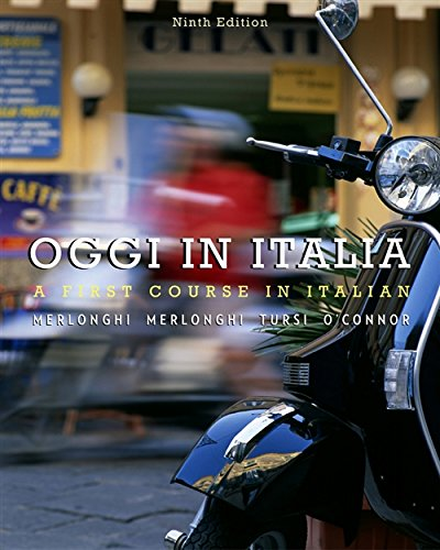 Download Oggi in Italia: A First Course in Italian 049590032X