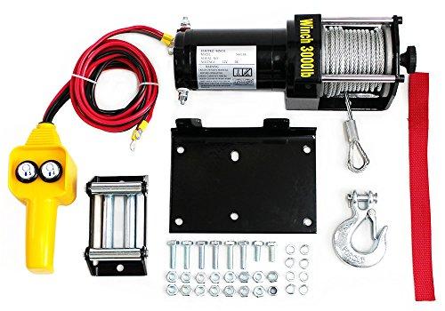 電動ウインチ 12V 3000LBS(1360kg) 防水仕様