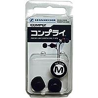Comply(コンプライ) イヤーピース  sennheiser ゼンハイザー & More Ts-167 イヤーピース ブラック Mサイズ 1ペア HC23-30502-01